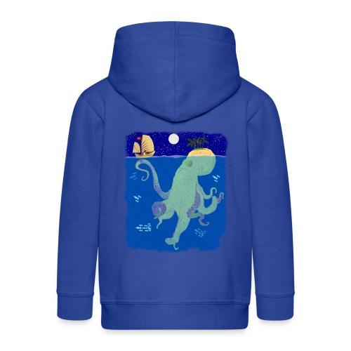Deep Blue Sea Pantone bluecontest - Kinder Premium Kapuzenjacke