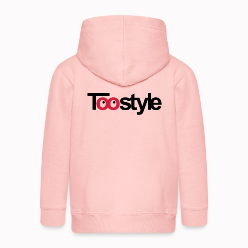 toostyle - Felpa con zip Premium per bambini