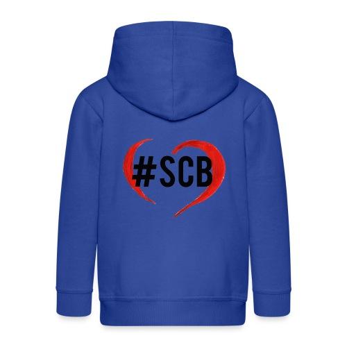 #sbc_solocosebelle - Felpa con zip Premium per bambini