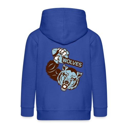 Wolves Rugby - Veste à capuche Premium Enfant