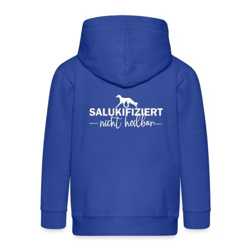 Saluki - nicht heilbar - Kinder Premium Kapuzenjacke