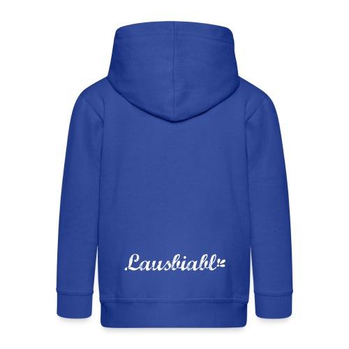 Lausbiabl - Kinder Premium Kapuzenjacke