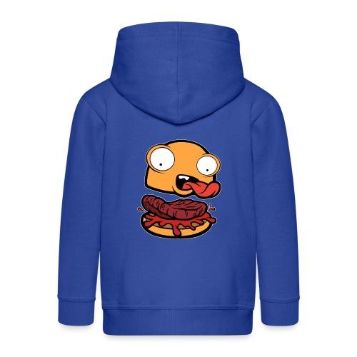 Crazy Burger - Chaqueta con capucha premium niño