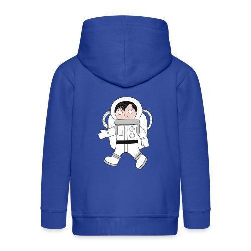 Astronaut - Kinder Premium Kapuzenjacke