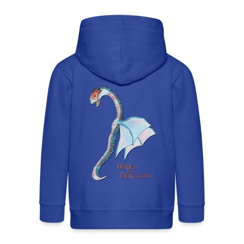Denaris Dragon - Kinder Premium Kapuzenjacke