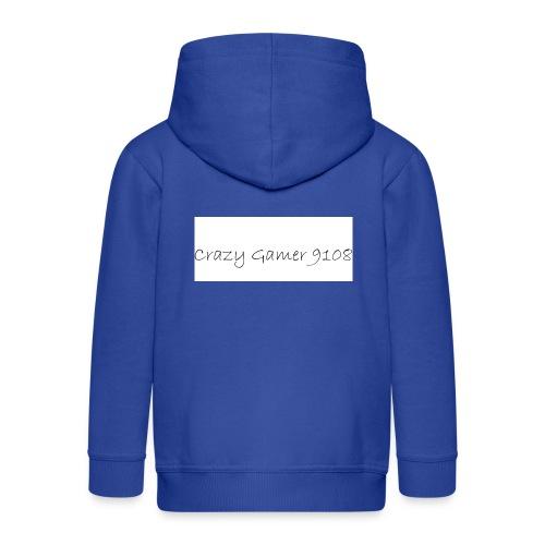 Crazy Gamer 9108 new merch - Kids' Premium Zip Hoodie