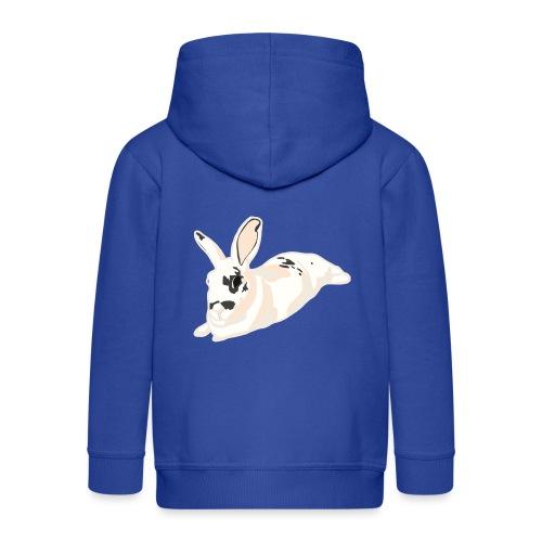 Konijn - Kinderen Premium jas met capuchon