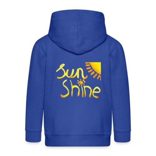 Sunshine - Kinderen Premium jas met capuchon