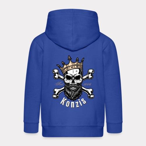 Skull Bones Logo - Kinder Premium Kapuzenjacke