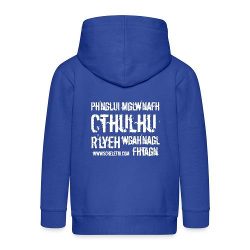 Cthulhu - Felpa con zip Premium per bambini
