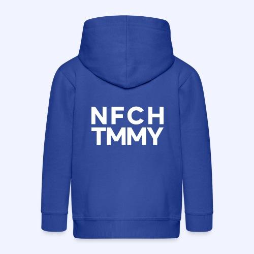 Einfach Tommy / NFCHTMMY / White Font - Kinder Premium Kapuzenjacke