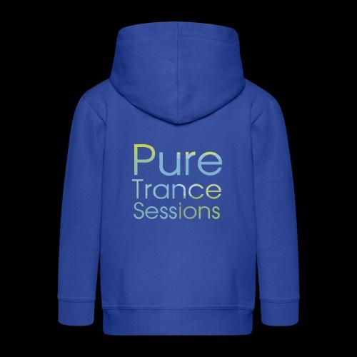 PureTrance100 transparantGROOT kopie png - Kids' Premium Zip Hoodie