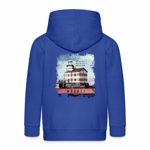 Märket majakkatuotteet, Finland Lighthouse, väri - Lasten premium hupparitakki
