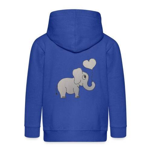 LackyElephant - Kinder Premium Kapuzenjacke