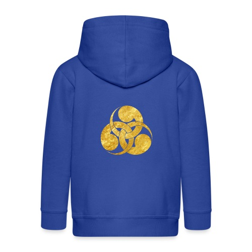 Tadpole Mon Japanese samurai clan - Kids' Premium Hooded Jacket
