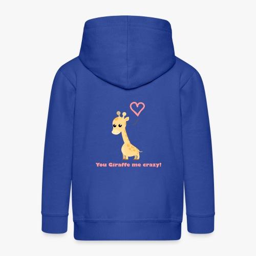 Giraffe Me Crazy - Premium hættejakke til børn
