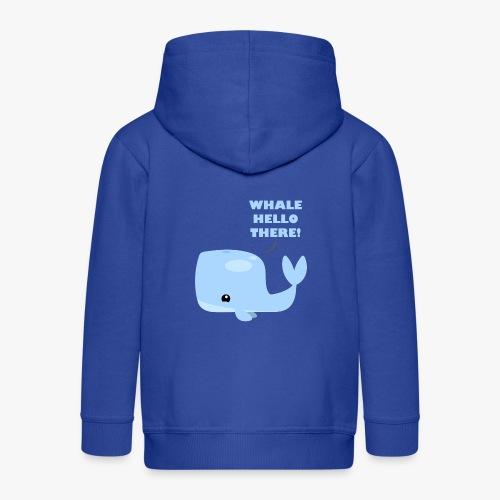 Whale Hello There - Premium hættejakke til børn