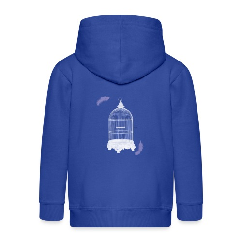 Trapped Inside - Kids' Premium Hooded Jacket