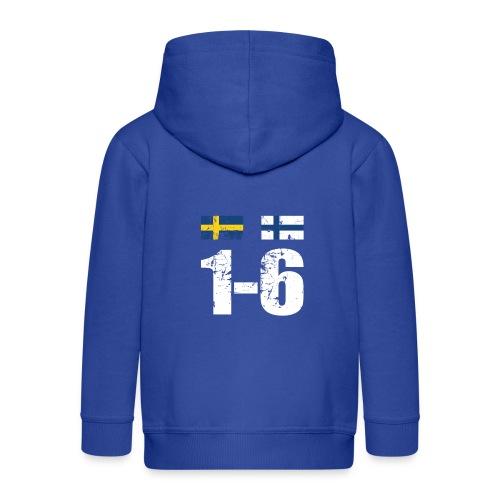 1-6 Sveden Finland grunge - Lasten premium hupparitakki