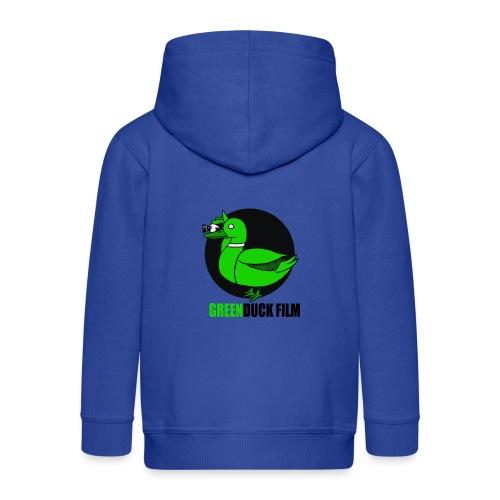 Greenduck Film Logo w. black letters - Premium hættejakke til børn