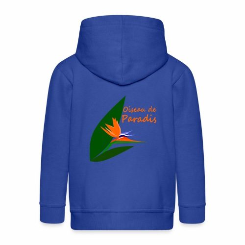 Bird of Paradise - Kids' Premium Zip Hoodie