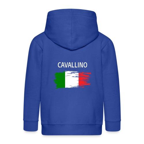 Cavallino Fanprodukte - Kinder Premium Kapuzenjacke