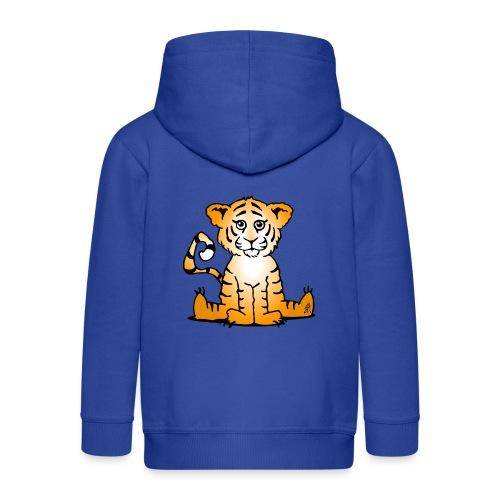 Tiger cub - Kids' Premium Zip Hoodie