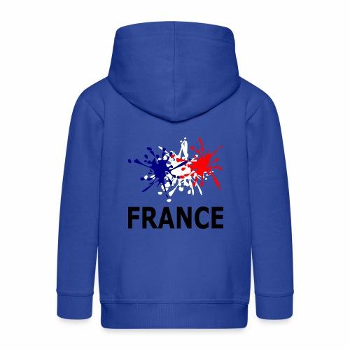 Bleu Blanc Rouge France - Kids' Premium Zip Hoodie
