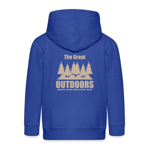 The great outdoors - Clothes for outdoor life - Kids' Premium Zip Hoodie