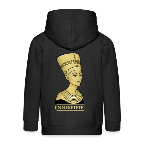 Nofretete I Königin von Ägypten - Kinder Premium Kapuzenjacke