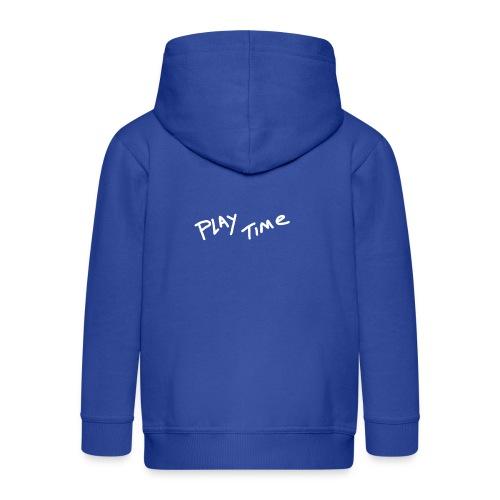 Play Time Tshirt - Kids' Premium Zip Hoodie