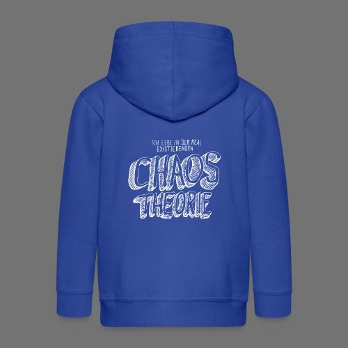 Chaos Theory (valkoinen) - Lasten premium hupparitakki