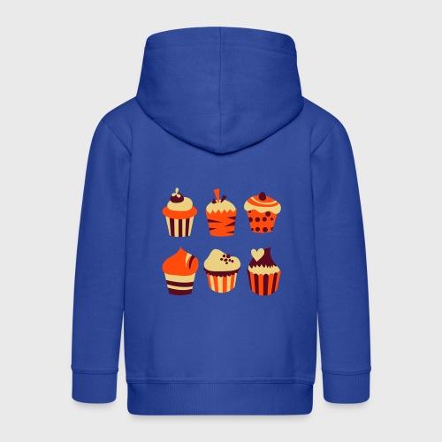 Cupcakes bien-être - Veste à capuche Premium Enfant