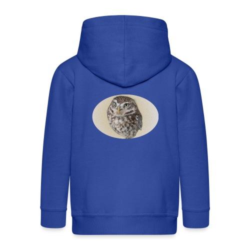 magic owl background gold transparent - Kids' Premium Zip Hoodie