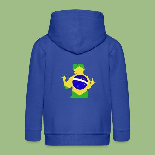 Ronaldinho Brazil - Premium-Luvjacka barn