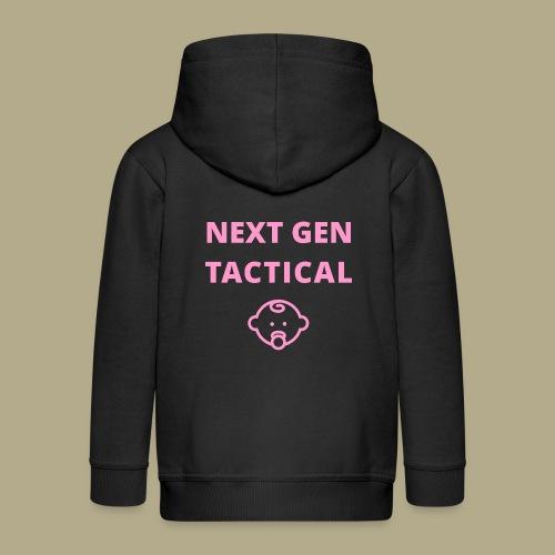 Tactical Baby Girl - Kinderen Premium jas met capuchon