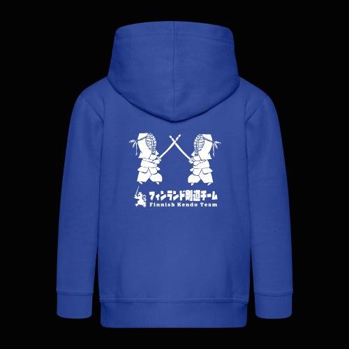 fka team logo white - Lasten premium hupparitakki