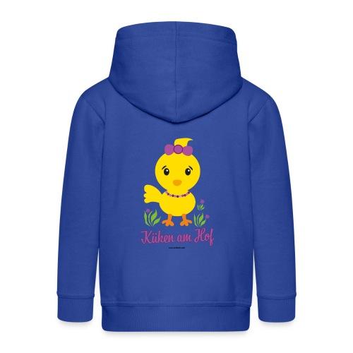 Ostern für kleine Mädchen - Kinder Premium Kapuzenjacke