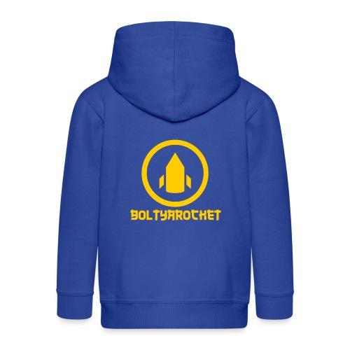 Bolt Ya Rocket - Kids' Premium Zip Hoodie