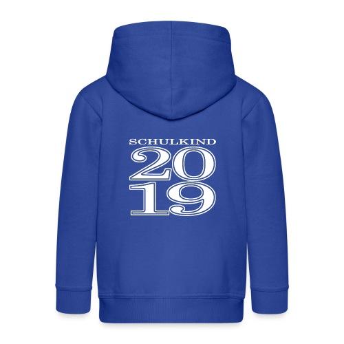 Schulkind 2019 - Kinder Premium Kapuzenjacke