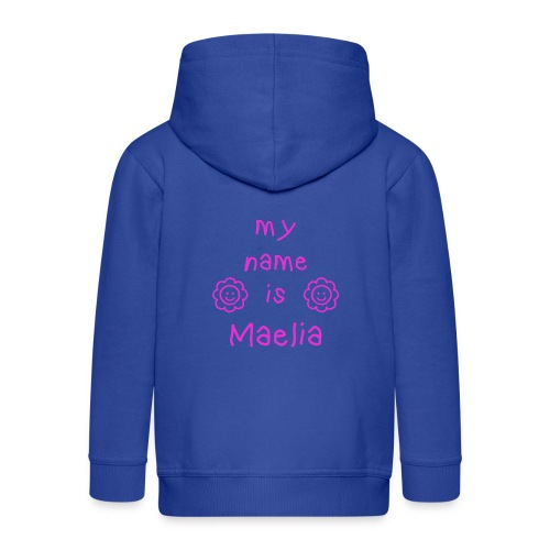 MAELIA MY NAME IS - Veste à capuche Premium Enfant