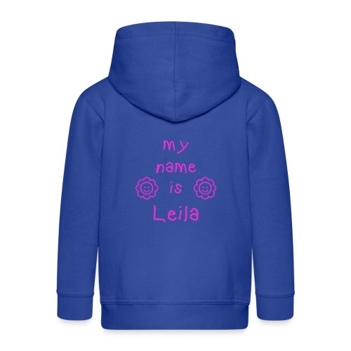 LEILA MY NAME IS - Veste à capuche Premium Enfant