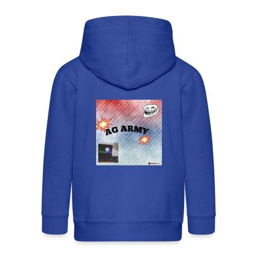 AG ARMY BG IS HERE!!!!!!!!!!!!!!! - Veste à capuche Premium Enfant