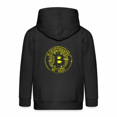In cryptography we trust 2 - Kids' Premium Zip Hoodie