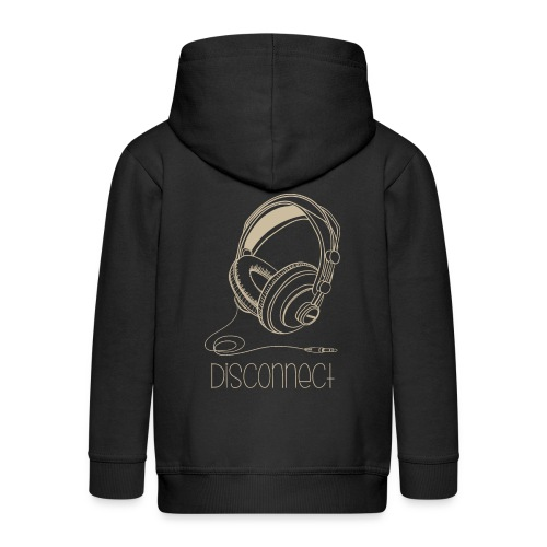 Disconnect - Chaqueta con capucha premium niño