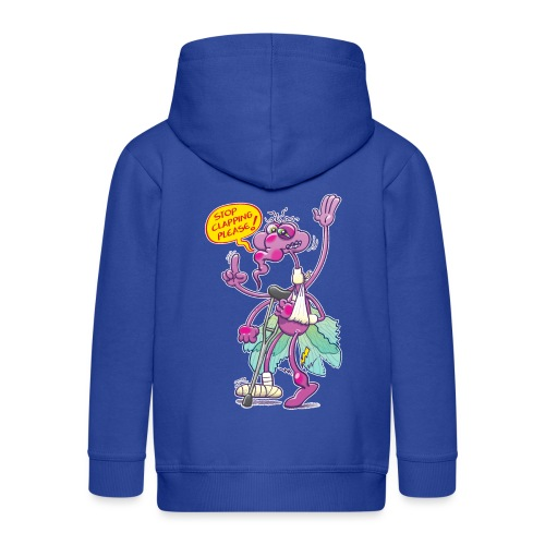 Moustique supplie de stopper les applaudissements - Kids' Premium Hooded Jacket