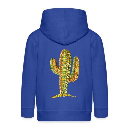 Le cactus - Veste à capuche Premium Enfant