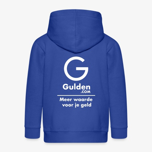 NLG - Gold Cryptocurrency - Early Adopter - Kids' Premium Zip Hoodie