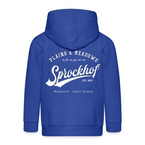 Sprockhof Retrologo - Kinder Premium Kapuzenjacke