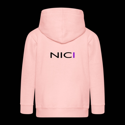 NICI logo Black - Lasten premium hupparitakki